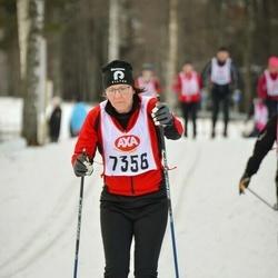 Skiing 45 km - Maria Sjöberg (7356)