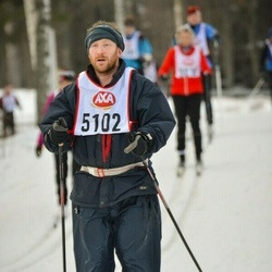 Skiing 45 km - Gordon Purdie (5102)