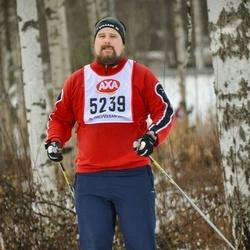 Skiing 45 km - Johan Jakobsson (5239)
