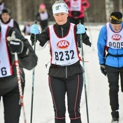 Skiing 45 km - Agneta Hansols (8232)