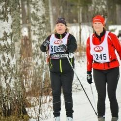 Skiing 45 km - Eva Fängström (3065)