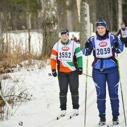 Skiing 45 km - Rosalie Lindberg (3552)