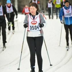 Skiing 45 km - Margareta Johansson (5504)