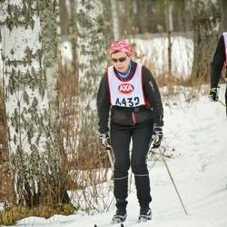 Skiing 45 km - Anna Franzén (4432)