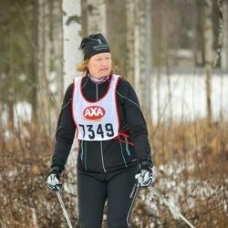 Skiing 45 km - Ann-Chatrine Nicklasson (7349)