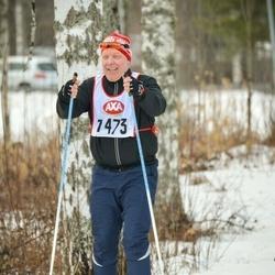 Skiing 45 km - Mats Gålnander (7473)