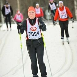 Skiing 45 km - Anna Johansson Frisk (7094)