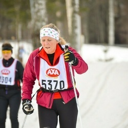 Skiing 45 km - Ulla Jansson (5370)
