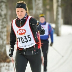 Skiing 45 km - Sofia Karlsson (7033)