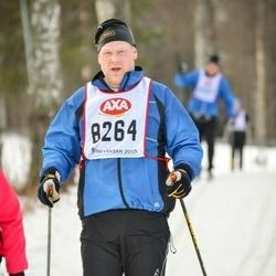 Skiing 45 km - Erik Johansson (8264)