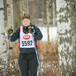 Skiing 45 km - Johanna Anfelt (3592)