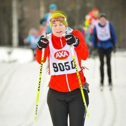 Skiing 45 km - Annette Persson (9050)