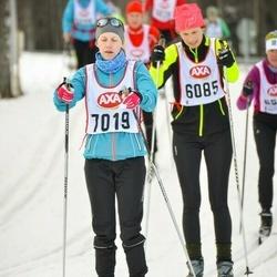 Skiing 45 km - Jenny Hedström (7019)