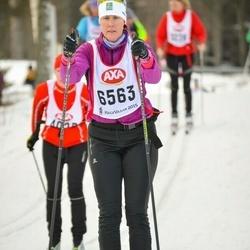 Skiing 45 km - Malin Isaksson (6563)