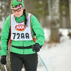 Skiing 45 km - Jennie Eriksson (7288)
