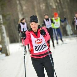 Skiing 45 km - Josefin Persson (8095)