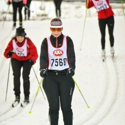 Skiing 45 km - Linda Ankermark (7560)