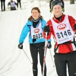 Skiing 45 km - Katarina O¿connell (8603)
