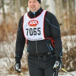 Skiing 45 km - Erik Ljunggren (7065)