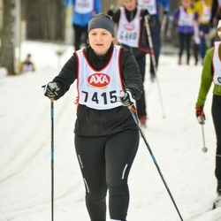 Skiing 45 km - Louise Nygren (7415)