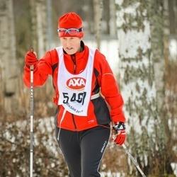 Skiing 45 km - Matilda Hedström (5461)