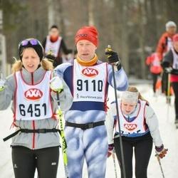 Skiing 45 km - Olle Berggren (9110)