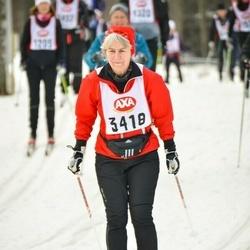 Skiing 45 km - Gunilla Palmquist (3418)