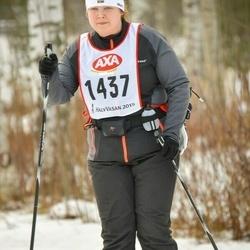 Suusatamine 45 km - Nora Skantz (1437)