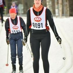 Skiing 45 km - Kajsa Beckman (8091)