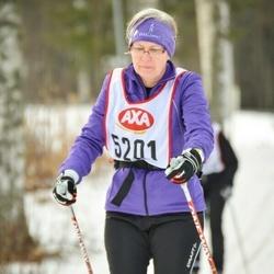 Skiing 45 km - Lisbeth Rosdahl (5201)