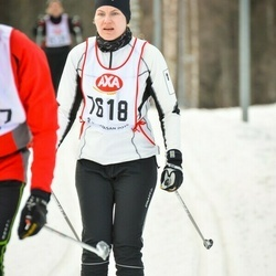 Skiing 45 km - Hanna Hjalmarsson (7618)