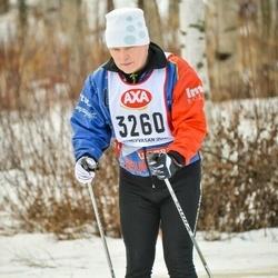 Suusatamine 45 km - Håkan Emanuelsson (3260)