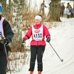 Skiing 45 km - Gunilla Björkegren (4132)