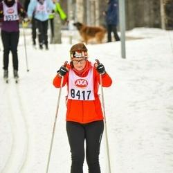 Skiing 45 km - Kristina Lundkvist (8417)