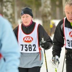 Skiing 45 km - Britt-Marie Andersson (7382)
