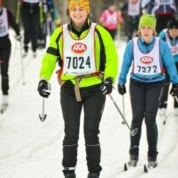 Skiing 45 km - Anna Richaud (7024)