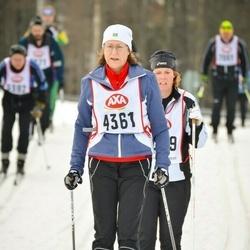 Skiing 45 km - Agneta Forssell Wallheden (4361)