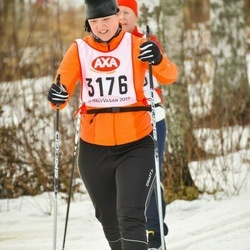 Skiing 45 km - Kristina Andersson (3176)