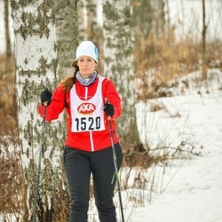 Skiing 45 km - Jonna Jansson (1520)