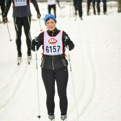 Skiing 45 km - Carina Fransson (6157)