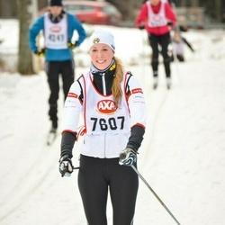 Skiing 45 km - Hannah Karling-Hulthén (7607)
