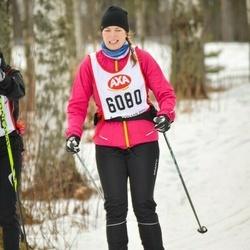 Skiing 45 km - Jessica Nielsen (6080)