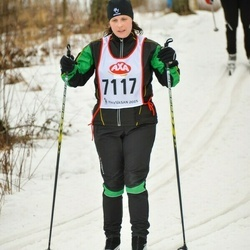 Skiing 45 km - Jenny Ekström (7117)