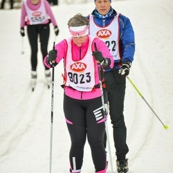 Skiing 45 km - Camilla Larsson (8023)