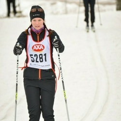 Skiing 45 km - Jessica Lindberg (5281)
