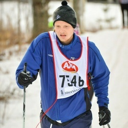 Skiing 45 km - Daniel Eriksson (7548)