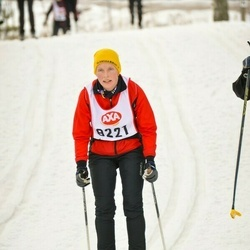 Skiing 45 km - Cecilia Hall (8221)