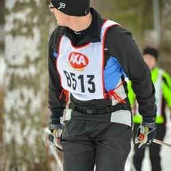 Skiing 45 km - Mikael Holst (8513)