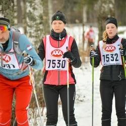 Skiing 45 km - Annika Olsson (7530)