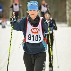 Skiing 45 km - Kristina Montalto (9103)